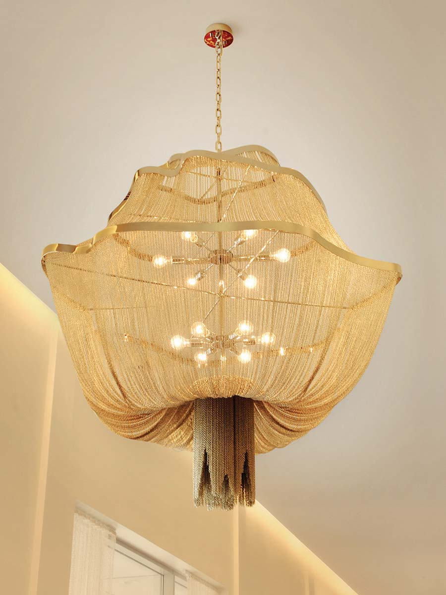 Athena Chandelier at Lusive.com