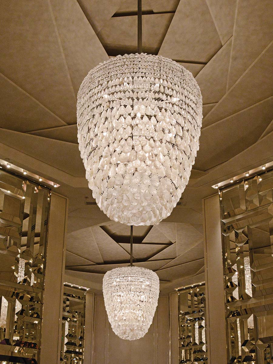 Bal Harbour Chandelier at Lusive.com