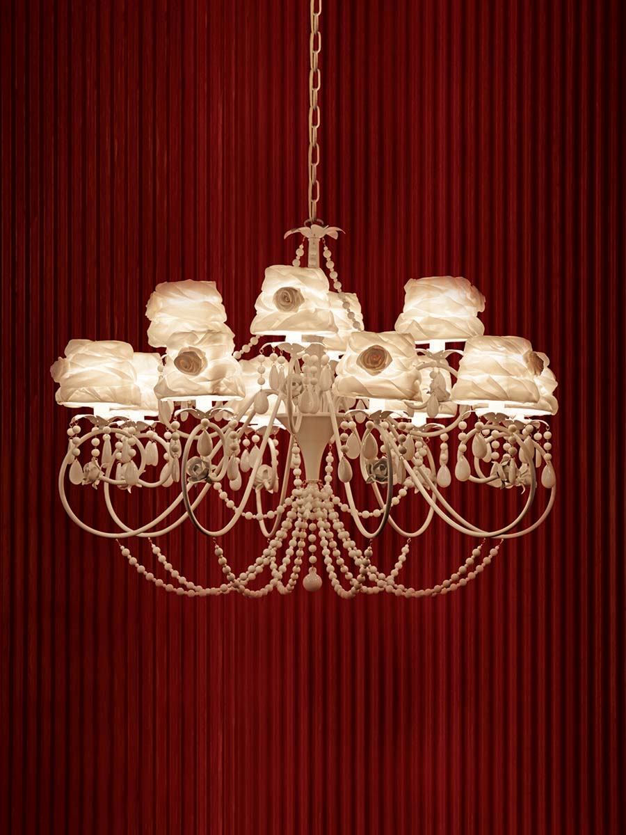 Belle de Jour Chandelier at Lusive.com