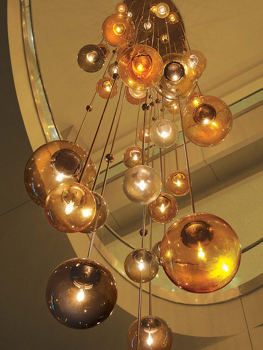 Cirque Chandelier at Lusive.com