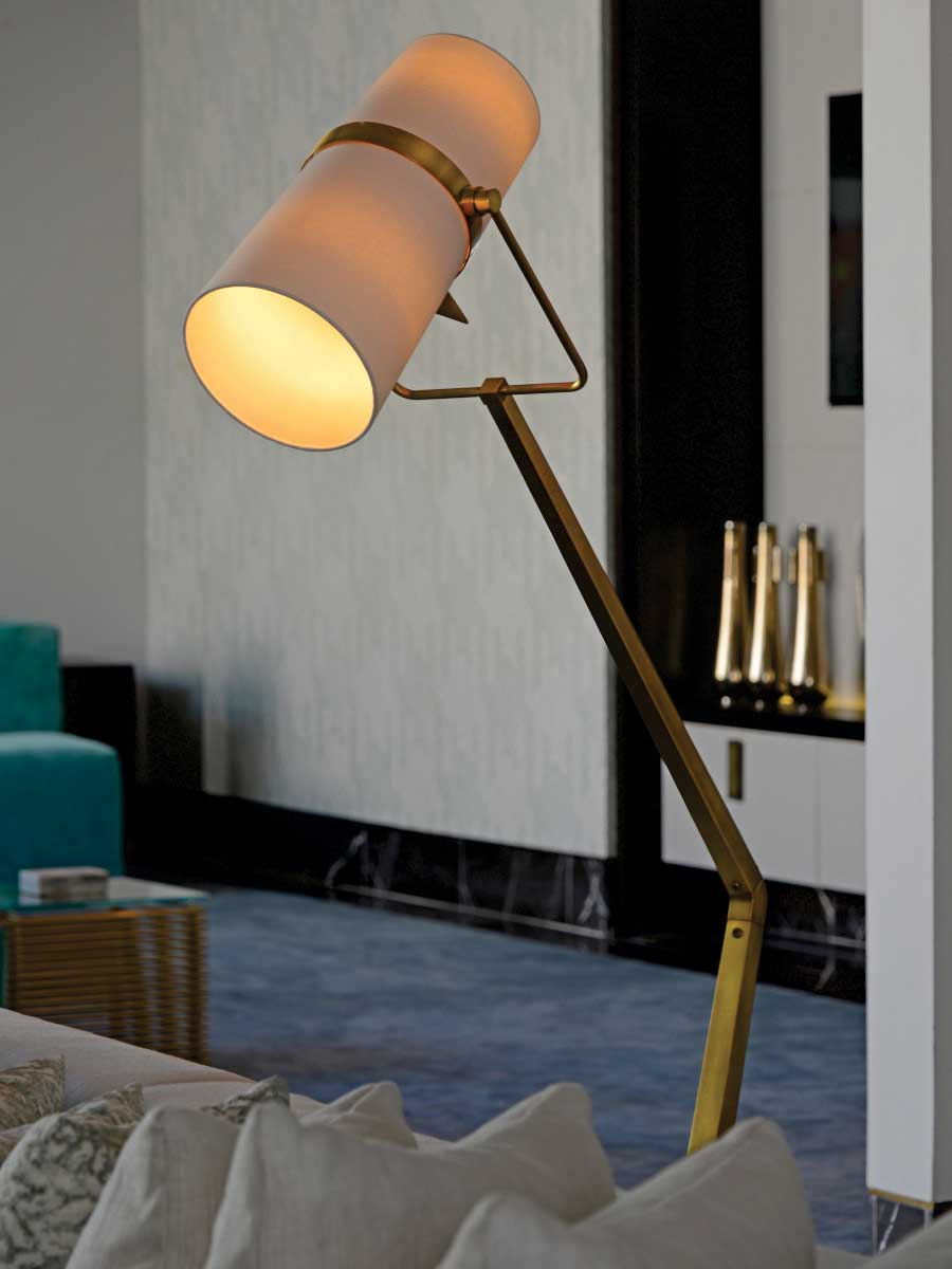 Gracie Floor Lamp at Lusive.com
