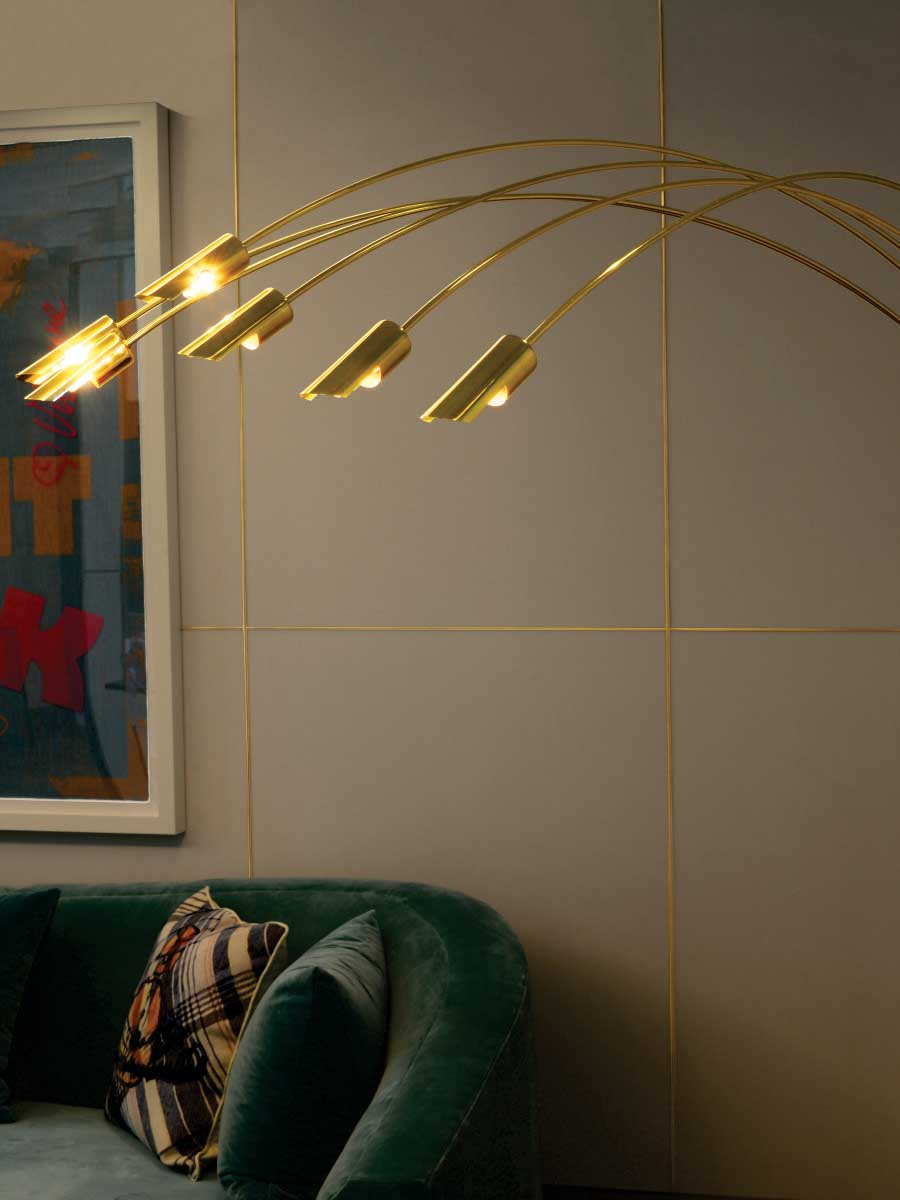 Hugo Floor Lamp at Lusive.com