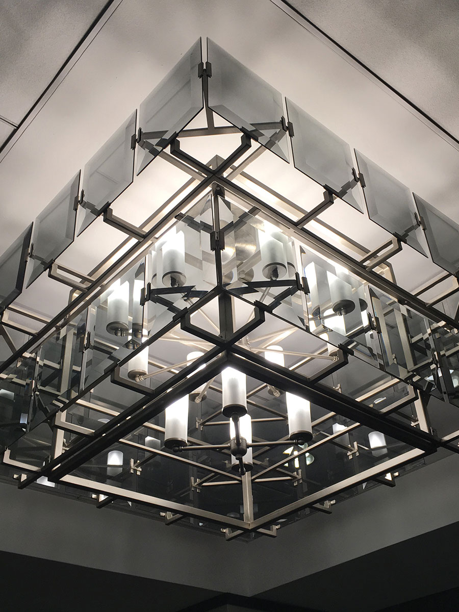 Huston 2-Tier Chandelier at Lusive.com