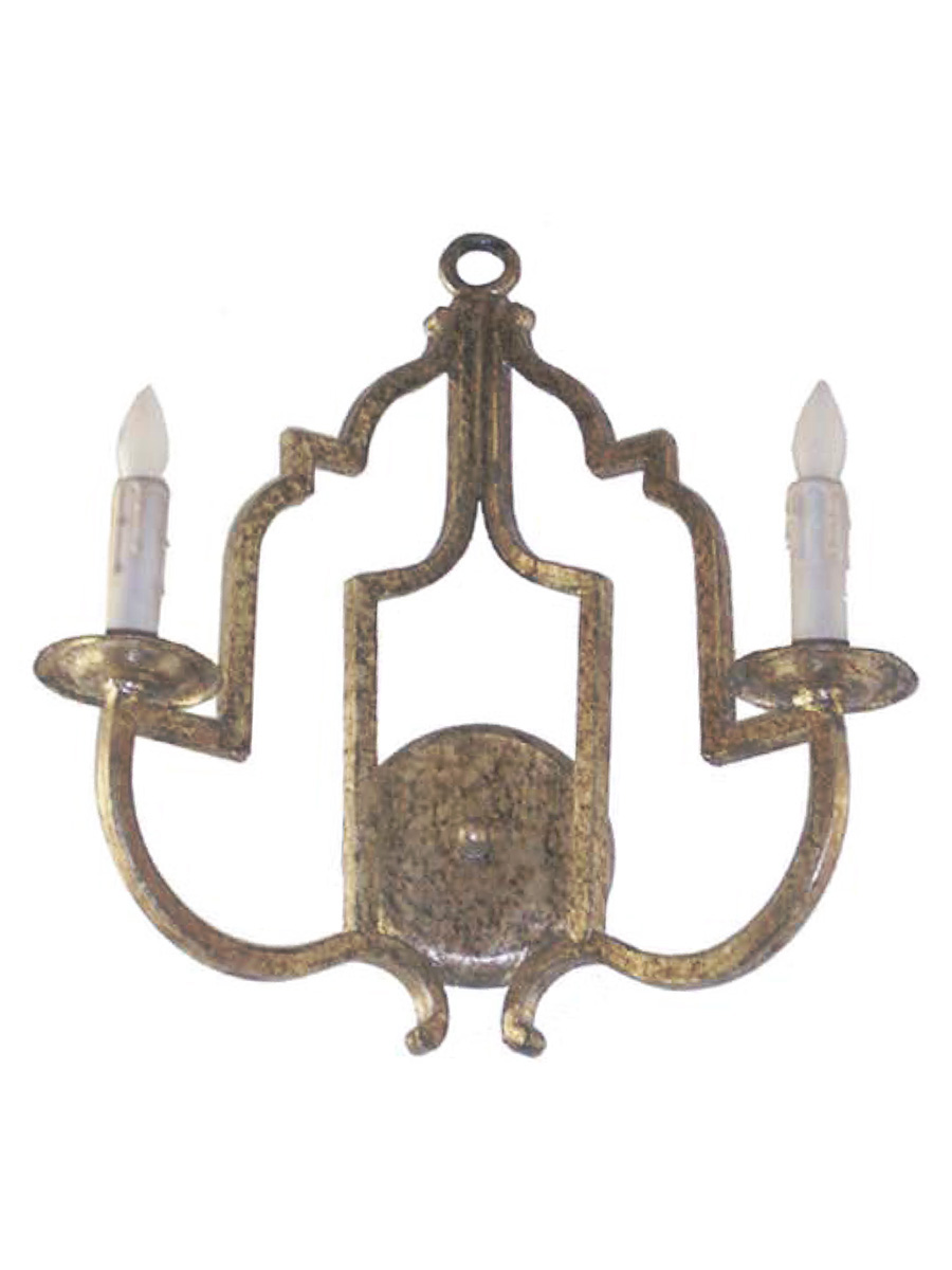 Malaga Double Arm Wall Sconce at Lusive.com