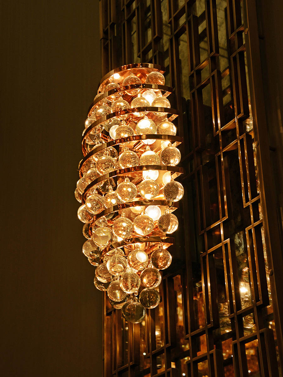 Royales Wall Sconce at Lusive.com