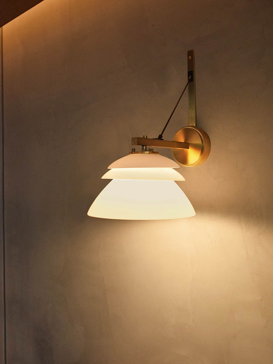 Saba Wall Sconce at Lusive.com