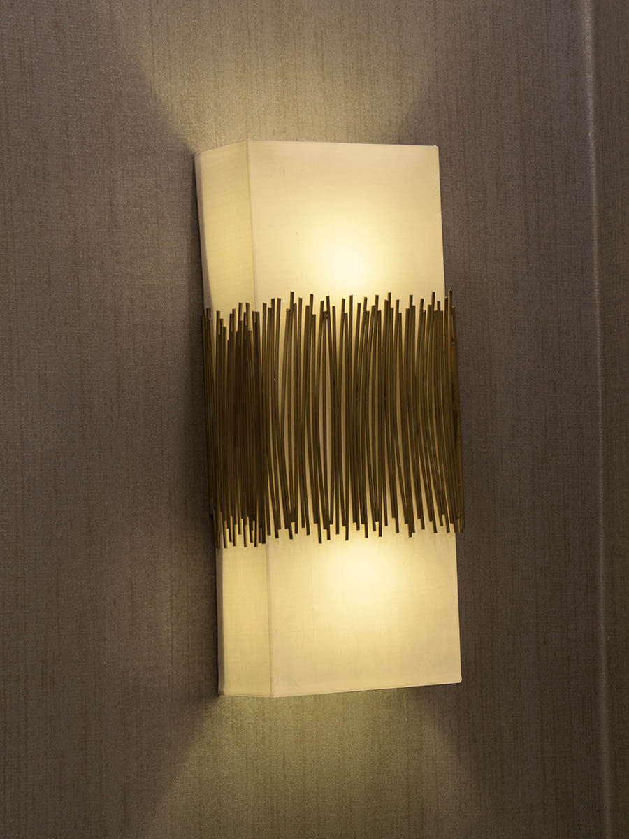 Saldana Wall Sconce at Lusive.com