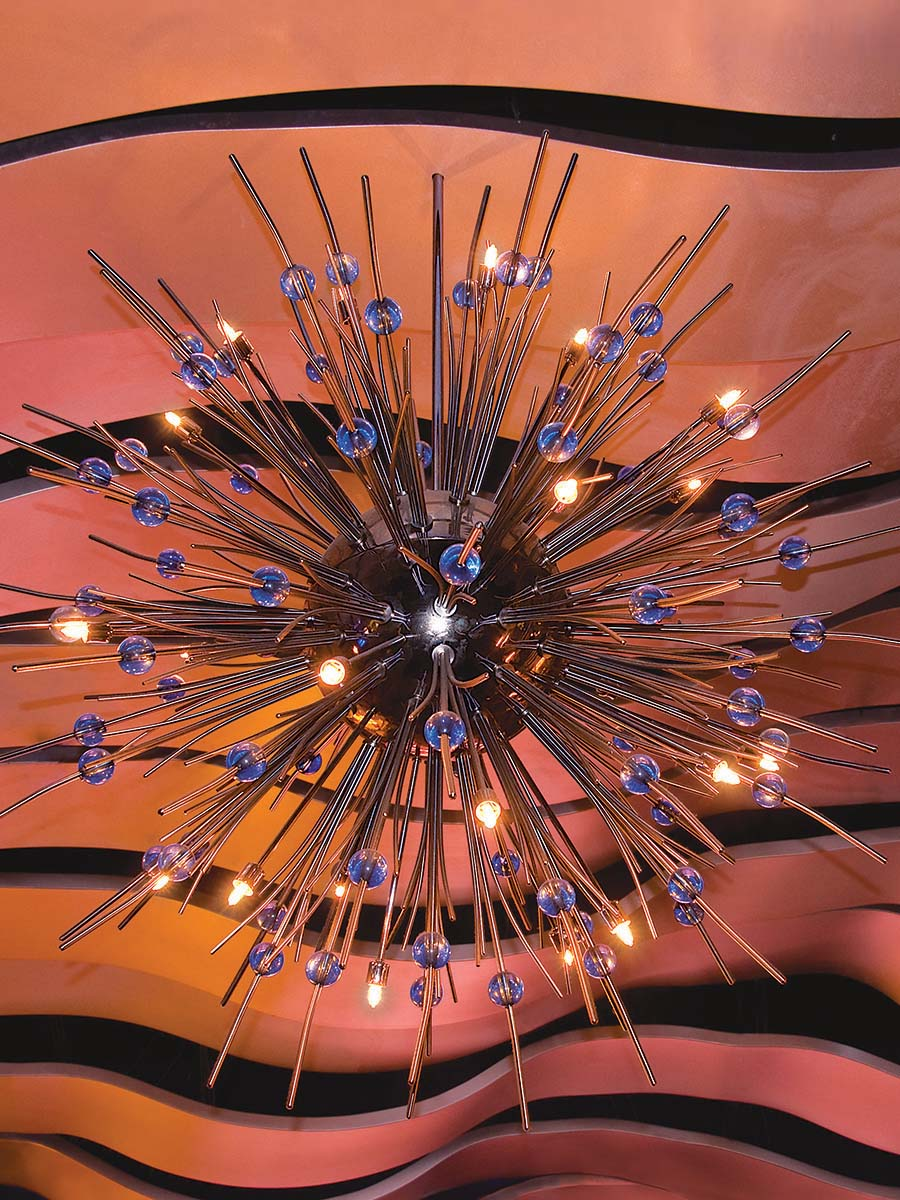 Satellite Chandelier at Lusive.com
