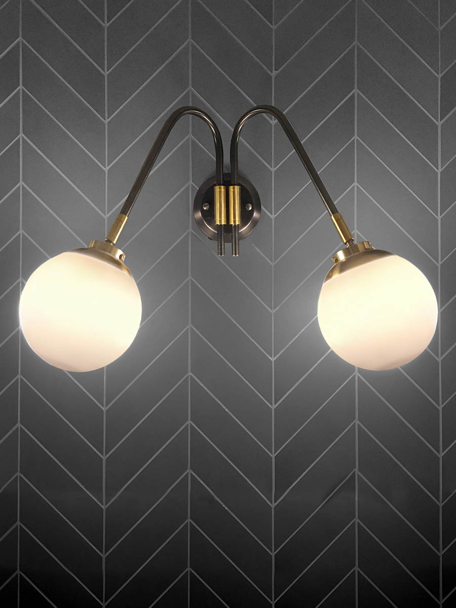 Thompson Wall Sconce at Lusive.com