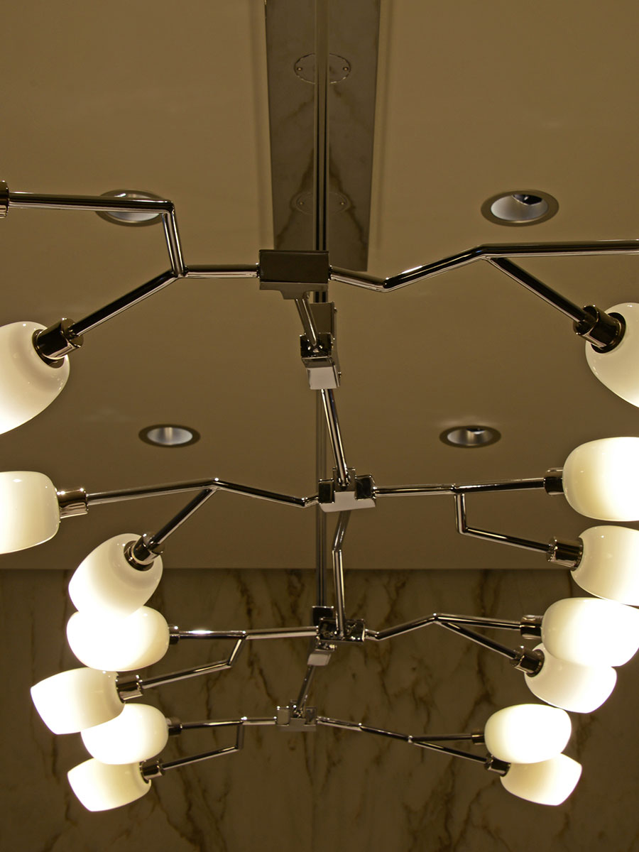 Blanca Chandelier at Lusive.com
