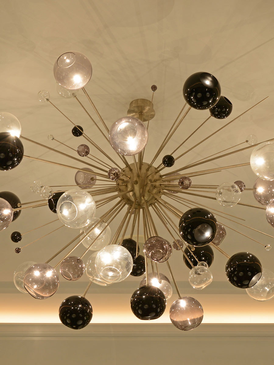 Lagerfeld Chandelier at Lusive.com