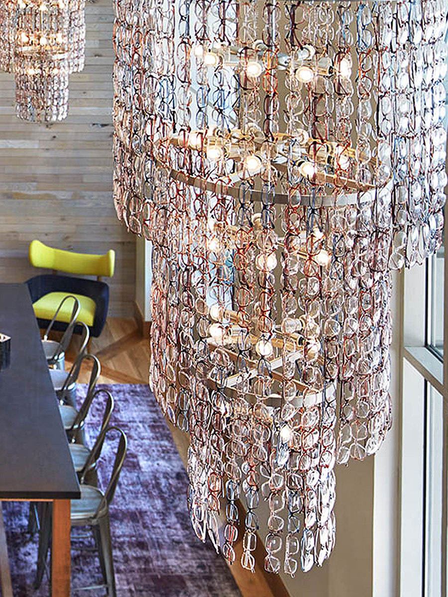 Oculus Chandelier at Lusive.com