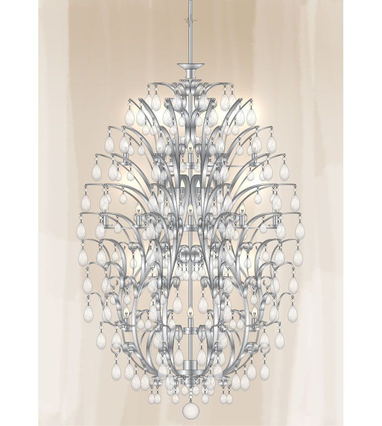 Segni Chandelier at Lusive.com
