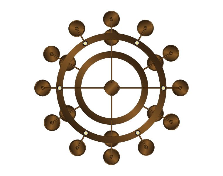 Rosamund Pendant at Lusive.com
