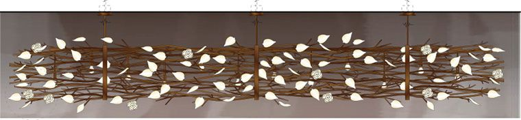 Arbora Chandelier at Lusive.com