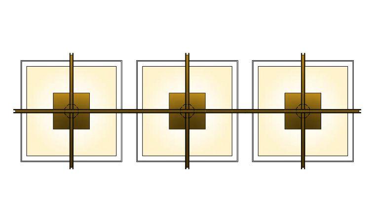 Cassetta Trio Pendant at Lusive.com