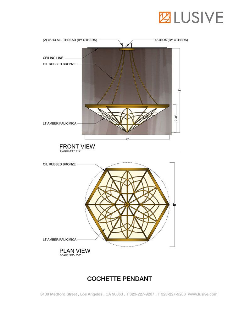 Cochette Pendant at Lusive.com